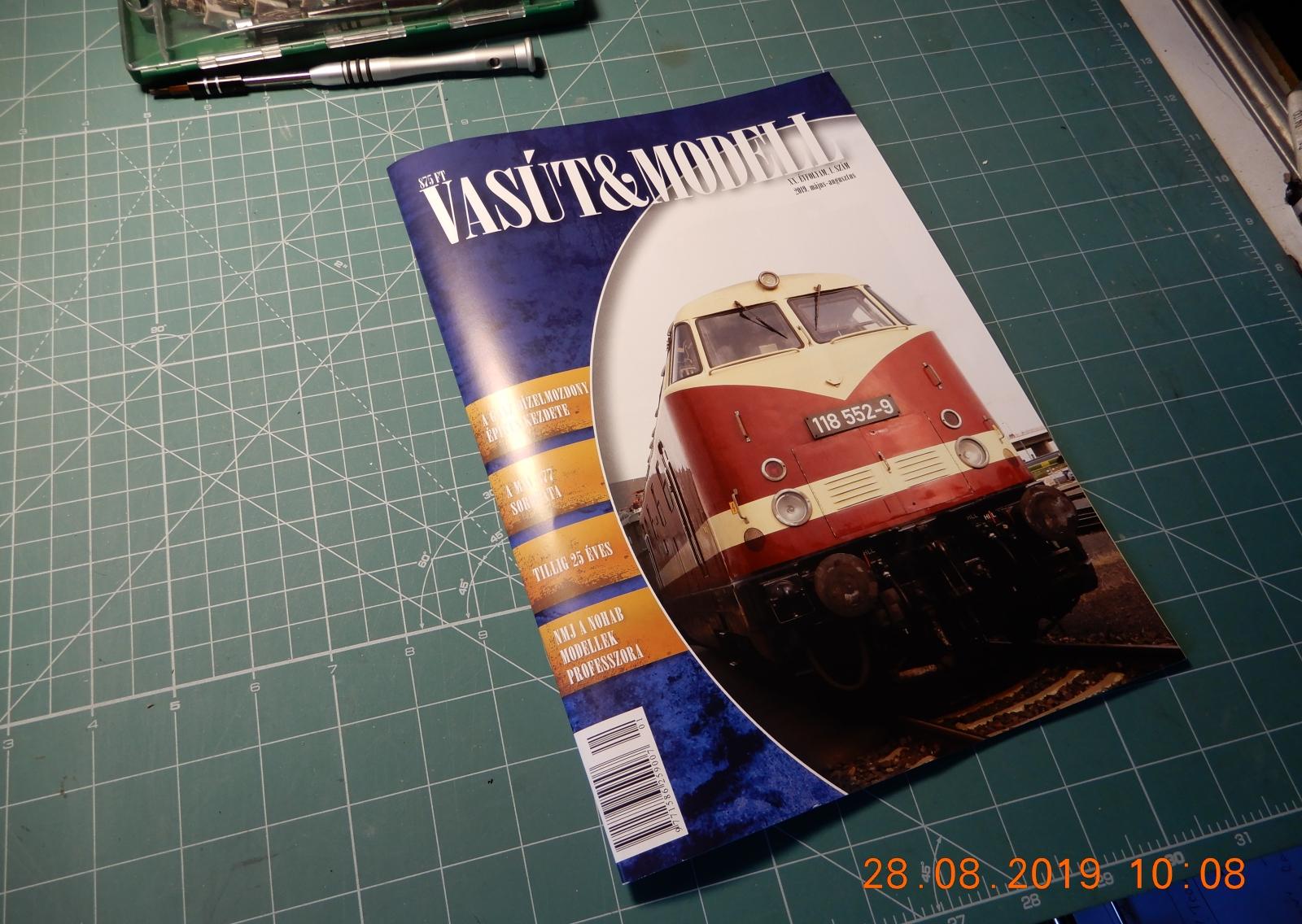 Megjelent a 20. évfolyamába lépett Vasút és modell következő száma.